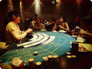 カジノならではの臨場感が愉しめる